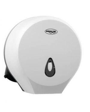 Zásobník Aqualine na toaletní papír do průměru 22cm, ABS bílá