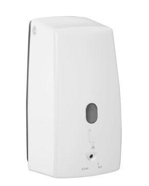 Bezdotykový dávkovač tekutého mýdla 500 ml, bílá