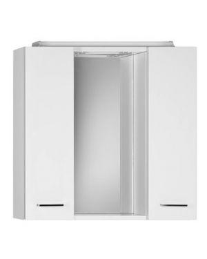 ZOJA/KERAMIA FRESH galerka s LED osvětlením, 70x60x14cm, bílá