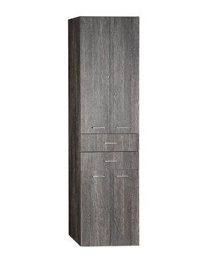 ZOJA/KERAMIA FRESH skříňka vysoká se zásuvkami 50x184x29cm, mali wenge