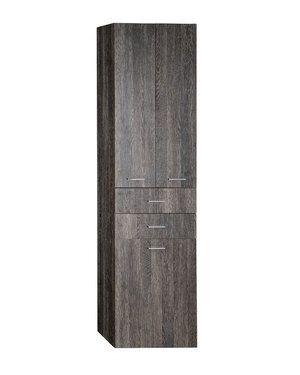 ZOJA/KERAMIA FRESH skříňka vysoká s košem 50x184x29cm, mali wenge