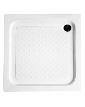 Sprchová vanička akrylátová, čtverec 80x80x15 cm