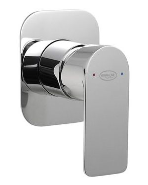 DAPHNE podomítková sprchová baterie, 1 výstup, chrom