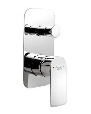 DAPHNE podomítková sprchová baterie, 2 výstupy, chrom