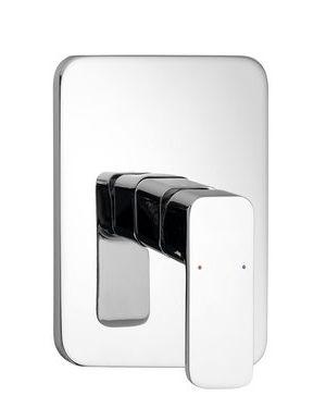 FACTOR podomítková sprchová baterie, 1 výstup, chrom