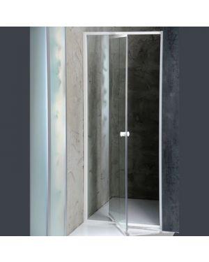 AMICO sprchové dveře výklopné 1040-1220x1850 mm, čiré sklo