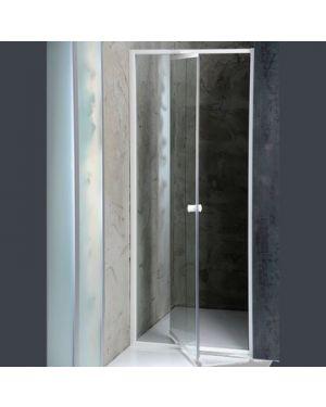 AMICO sprchové dveře výklopné 740-820x1850 mm, čiré sklo