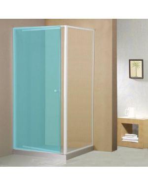 AMICO boční stěna, sklo, pevná část, 800 mm