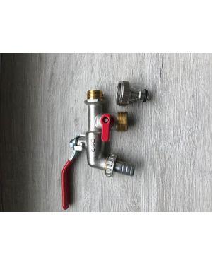 Zahradní kulový ventil 2070 1/2 + adaptér