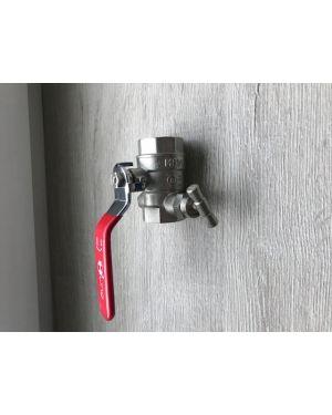 Kulový ventil ART 95 + odvzdušnění
