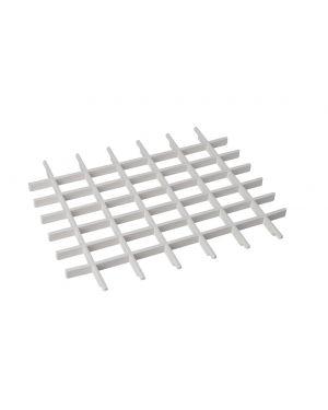 Univerzální mřížka pro závěsné výlevky, plast, bílá