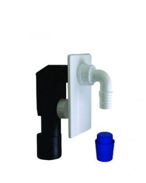 Sifon pračkový podomítkový - PVC